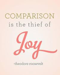 Comparison is the Thief of Joy image